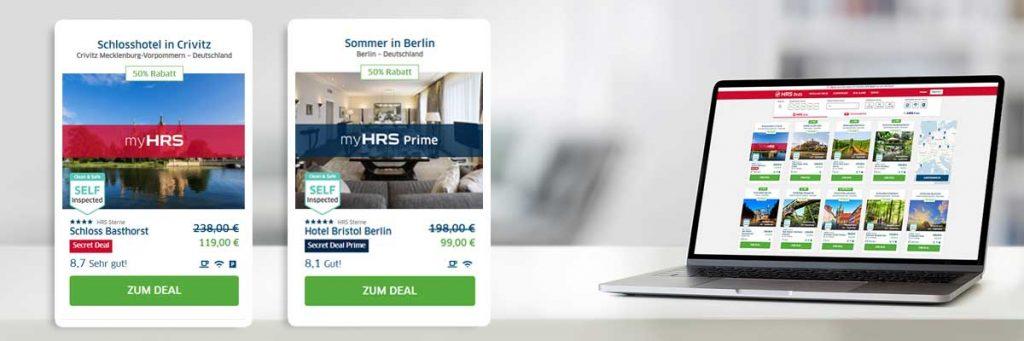 Exklusive Hotelangebote: Business Travel Tarife Deals